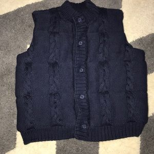 Janie and Jack sweater puffer